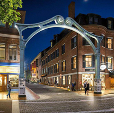 Music Hall Streetscape Renovation, Portsmouth, NH